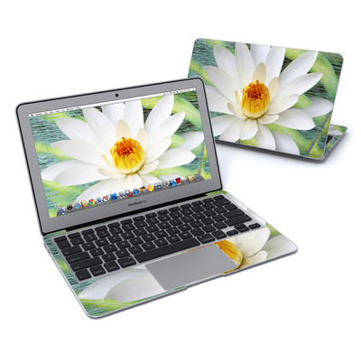 MacBook Air 11in Skin - Liquid Bloom
