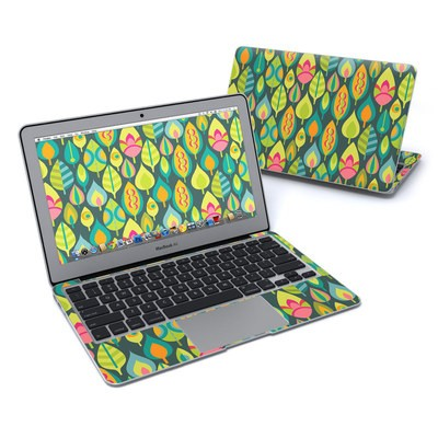 MacBook Air 11in Skin - Little Leaves