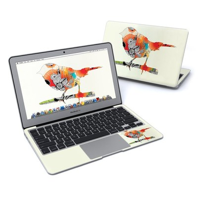 MacBook Air 11in Skin - Little Bird