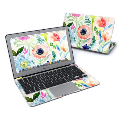 MacBook Air 11in Skin - Loose Flowers