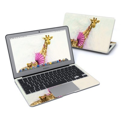 MacBook Air 11in Skin - Lounge Giraffe