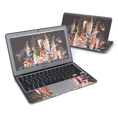 MacBook Air 11in Skin - Lupines Chocolate