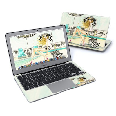 MacBook Air 11in Skin - Luxe Retreat Poolside