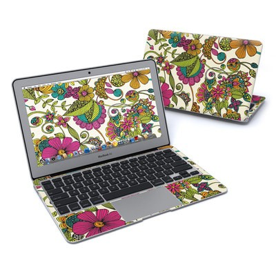MacBook Air 11in Skin - Maia Flowers