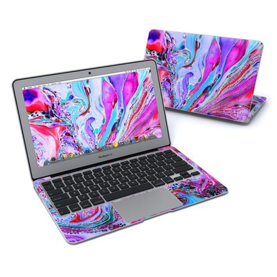MacBook Air 11in Skin - Marbled Lustre