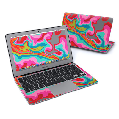 MacBook Air 11in Skin - Marble Bright