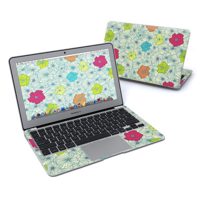 MacBook Air 11in Skin - May Flowers