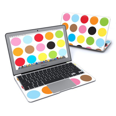 MacBook Air 11in Skin - Multidot