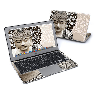 MacBook Air 11in Skin - Meditation Mehndi