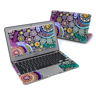 MacBook Air 11in Skin - Mehndi Garden