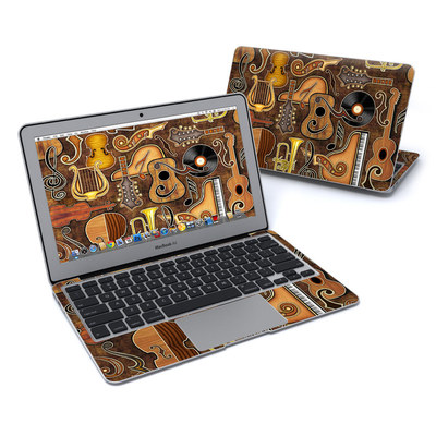 MacBook Air 11in Skin - Music Elements