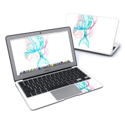 MacBook Air 11in Skin - Mermaid Tails