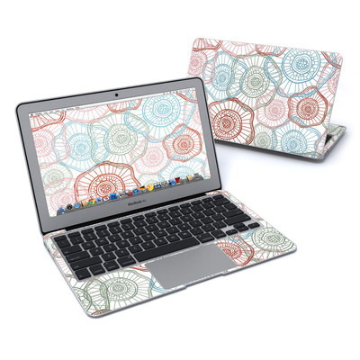 MacBook Air 11in Skin - Micro Flowers