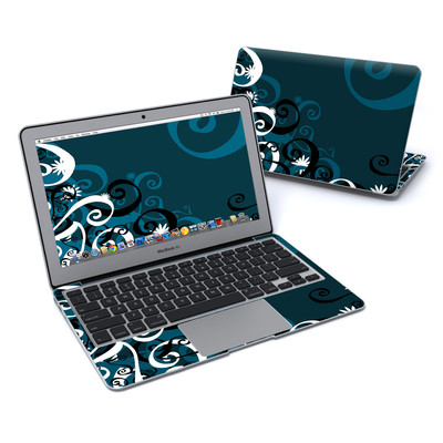 MacBook Air 11in Skin - Midnight Garden