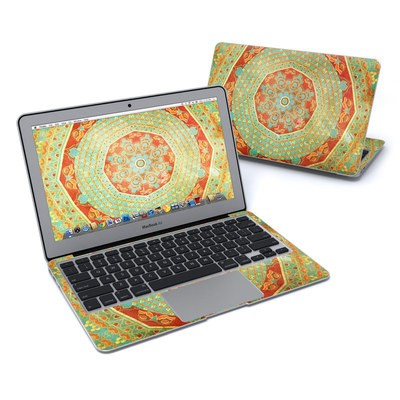 MacBook Air 11in Skin - Mandala Citrus