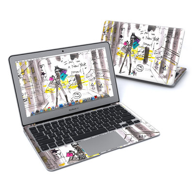 MacBook Air 11in Skin - My New York Mood