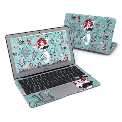 MacBook Air 11in Skin - Molly Mermaid