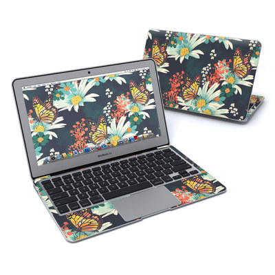 MacBook Air 11in Skin - Monarch Grove