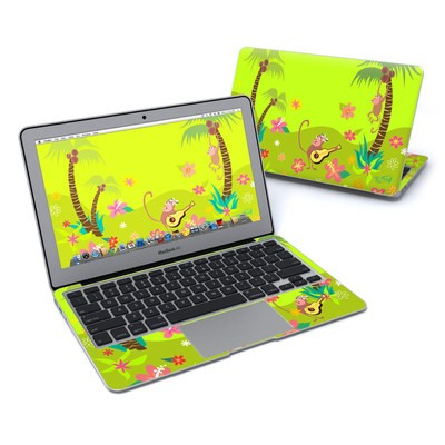 MacBook Air 11in Skin - Monkey Melody