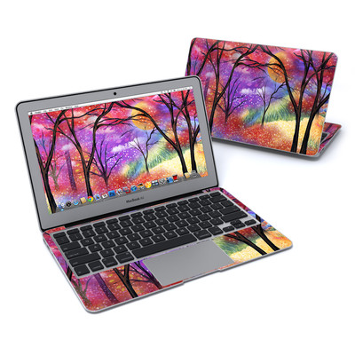 MacBook Air 11in Skin - Moon Meadow