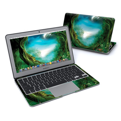 MacBook Air 11in Skin - Moon Tree