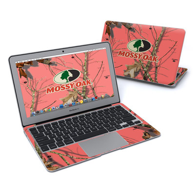 MacBook Air 11in Skin - Break-Up Lifestyles Salmon