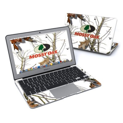 MacBook Air 11in Skin - Break-Up Lifestyles Snow Drift