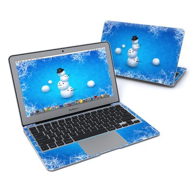 MacBook Air 11in Skin - Merry Snowman