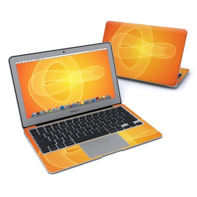MacBook Air 11in Skin - Moire Trefoil