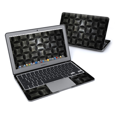 MacBook Air 11in Skin - Metallic Weave