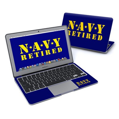 MacBook Air 11in Skin - Navy Retired