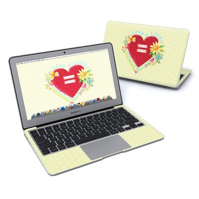 MacBook Air 11in Skin - Love Is What We Need