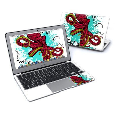 MacBook Air 11in Skin - Octopus