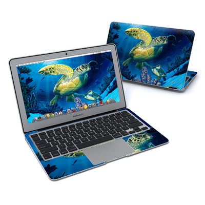 MacBook Air 11in Skin - Ocean Fest