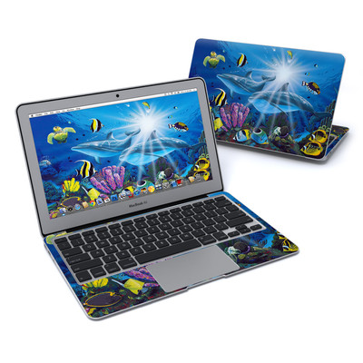 MacBook Air 11in Skin - Ocean Friends