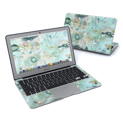 MacBook Air 11in Skin - Organic In Blue