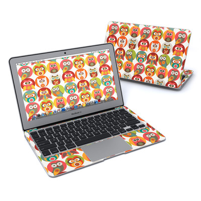 MacBook Air 11in Skin - Owls Family