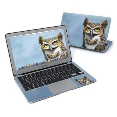 MacBook Air 11in Skin - Owl Totem