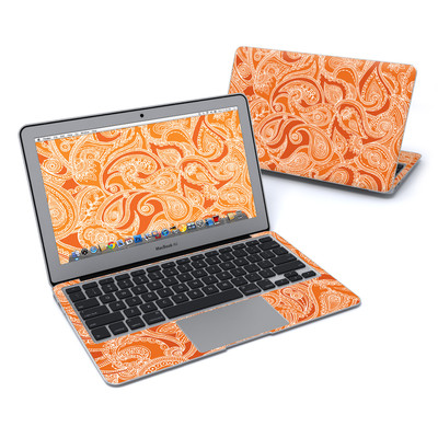 MacBook Air 11in Skin - Paisley In Orange