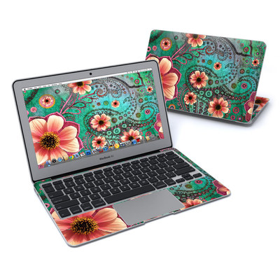 MacBook Air 11in Skin - Paisley Paradise