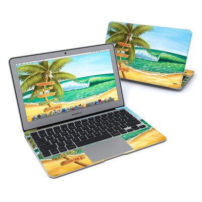 MacBook Air 11in Skin - Palm Signs