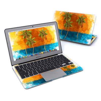 MacBook Air 11in Skin - Palm Trio