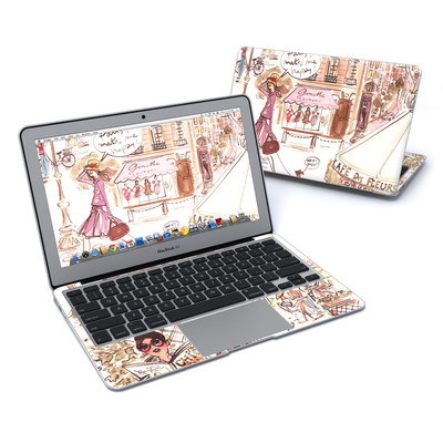 MacBook Air 11in Skin - Paris Makes Me Happy