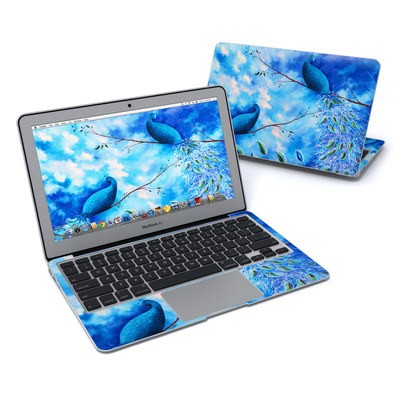 MacBook Air 11in Skin - Paradise Peacocks