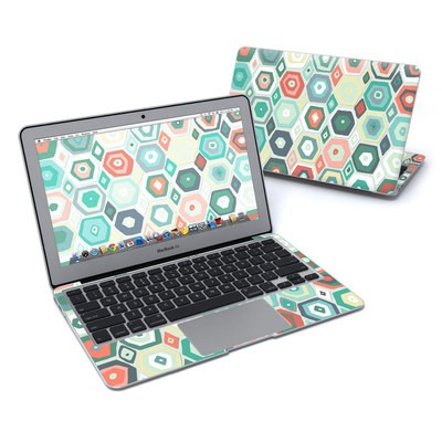 MacBook Air 11in Skin - Pastel Diamond