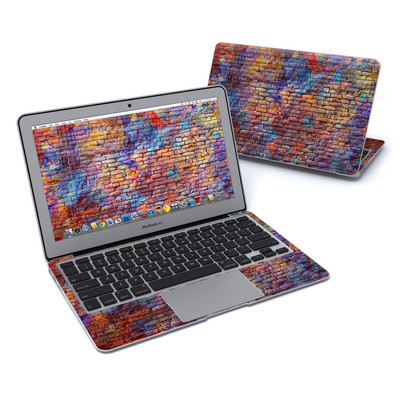 MacBook Air 11in Skin - Painted Brick