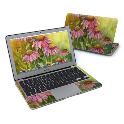 MacBook Air 11in Skin - Prairie Coneflower