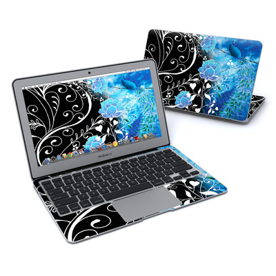 MacBook Air 11in Skin - Peacock Sky