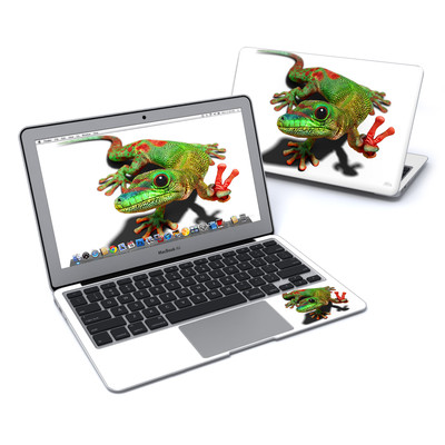 MacBook Air 11in Skin - Peace Gecko