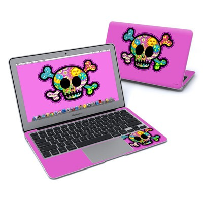 MacBook Air 11in Skin - Peace Skull